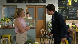Xanthe Canning, Ben Kirk in Neighbours Episode 7450