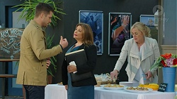 Mark Brennan, Terese Willis, Lauren Turner in Neighbours Episode 7451