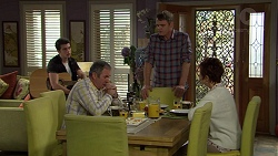 Ben Kirk, Karl Kennedy, Gary Canning, Susan Kennedy in Neighbours Episode 7451