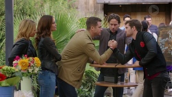 Steph Scully, Elly Conway, Mark Brennan, Brad Willis, Ned Willis in Neighbours Episode 7451