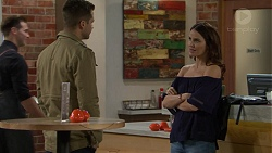 Mark Brennan, Elly Conway in Neighbours Episode 7451