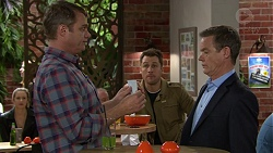 Gary Canning, Paul Robinson, Mark Brennan in Neighbours Episode 7451