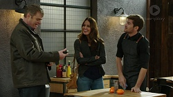 Gary Canning, Elly Conway, Ned Willis in Neighbours Episode 7452