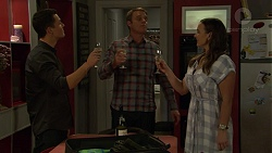 Jack Callahan, Gary Canning, Amy Williams in Neighbours Episode 7452