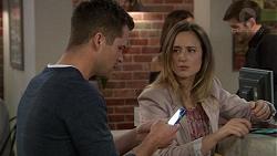 Mark Brennan, Sonya Rebecchi, Ned Willis in Neighbours Episode 7452