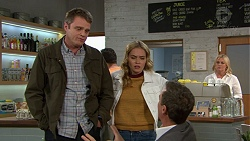 Gary Canning, Xanthe Canning, Paul Robinson in Neighbours Episode 7453