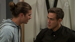Tyler Brennan, Aaron Brennan in Neighbours Episode 7453