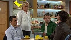 Jack Callaghan, Lauren Turner, Toadie Rebecchi, Brad Willis in Neighbours Episode 7453
