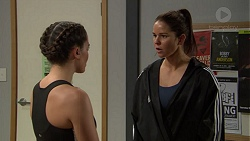 Paige Smith, Angelina Jackson in Neighbours Episode 7453