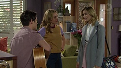 Ben Kirk, Xanthe Canning, Madison Robinson in Neighbours Episode 7454