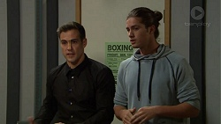 Aaron Brennan, Tyler Brennan in Neighbours Episode 7454