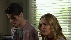Ben Kirk, Xanthe Canning in Neighbours Episode 7454