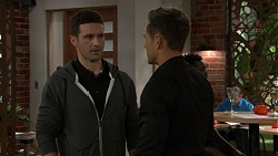 Blake Dyson, Aaron Brennan in Neighbours Episode 7454