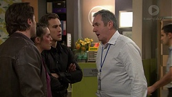 Brad Willis, Paige Novak, Aaron Brennan, Karl Kennedy in Neighbours Episode 7454