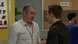Karl Kennedy, Aaron Brennan in Neighbours Episode 7454