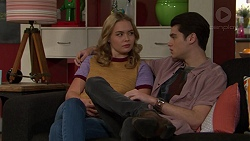 Xanthe Canning, Ben Kirk in Neighbours Episode 7454