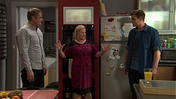 Gary Canning, Sheila Canning, Kyle Canning in Neighbours Episode 7455