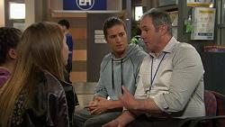 Piper Willis, Tyler Brennan, Karl Kennedy in Neighbours Episode 7455