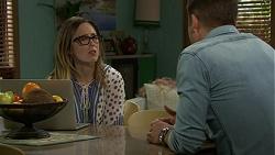Sonya Mitchell, Mark Brennan in Neighbours Episode 7456