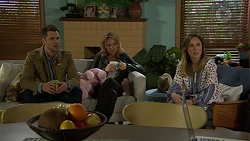 Mark Brennan, Steph Scully, Sonya Mitchell in Neighbours Episode 7457