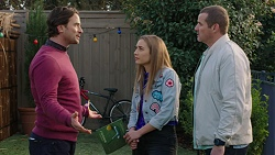 Brad Willis, Piper Willis, Toadie Rebecchi in Neighbours Episode 7458