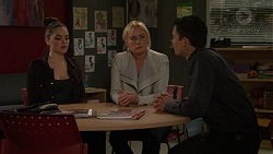 Paige Novak, Lauren Turner, Jack Callaghan in Neighbours Episode 7458