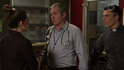 Paige Novak, Karl Kennedy, Jack Callaghan in Neighbours Episode 7458