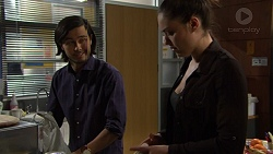 David Tanaka, Paige Novak in Neighbours Episode 7458