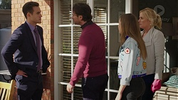 Aaron Brennan, Brad Willis, Piper Willis, Lauren Turner in Neighbours Episode 7458