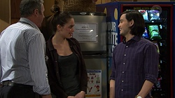 Karl Kennedy, Paige Novak, David Tanaka in Neighbours Episode 7458