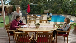 Brad Willis, Lauren Turner, Piper Willis in Neighbours Episode 7458