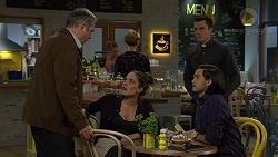 Karl Kennedy, Paige Smith, Jack Callahan, David Tanaka in Neighbours Episode 7458
