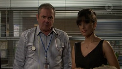 Karl Kennedy, Dr Anward Adisa in Neighbours Episode 7459