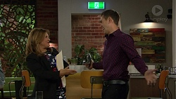 Terese Willis, Aaron Brennan in Neighbours Episode 7459