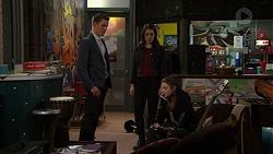 Jack Callahan, Paige Smith, Nikki Jackson in Neighbours Episode 7460