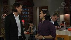 Leo Tanaka, David Tanaka, Paul Robinson in Neighbours Episode 7460