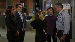 Paige Smith, Jack Callahan, Nikki Jackson, David Tanaka, Karl Kennedy in Neighbours Episode 7460