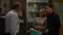 Karl Kennedy, Xanthe Canning, Ben Kirk in Neighbours Episode 7460