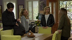 Ben Kirk, Xanthe Canning, Madison Robinson, Piper Willis in Neighbours Episode 7460