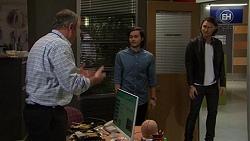Karl Kennedy, David Tanaka, Leo Tanaka in Neighbours Episode 7460