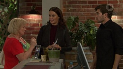 Sheila Canning, Elly Conway, Ned Willis in Neighbours Episode 7461