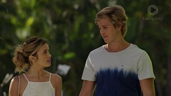 Madison Robinson, Logan Dunne in Neighbours Episode 7461