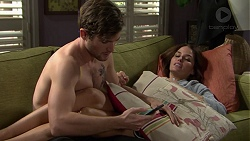 Ned Willis, Elly Conway in Neighbours Episode 7462