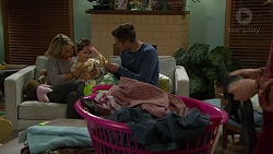 Steph Scully, Nell Rebecchi, Mark Brennan in Neighbours Episode 7463