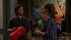 David Tanaka, Amy Williams in Neighbours Episode 7463