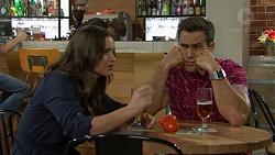 Amy Williams, Aaron Brennan in Neighbours Episode 7464