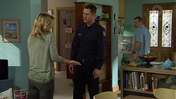 Steph Scully, Mark Brennan, Toadie Rebecchi in Neighbours Episode 7464