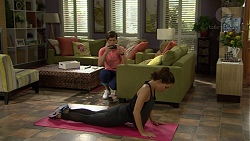 Angus Beaumont-Hannay, Elly Conway in Neighbours Episode 7464