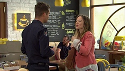 Mark Brennan, Sonya Mitchell in Neighbours Episode 7465