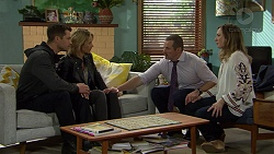 Mark Brennan, Steph Scully, Toadie Rebecchi, Sonya Mitchell in Neighbours Episode 7465